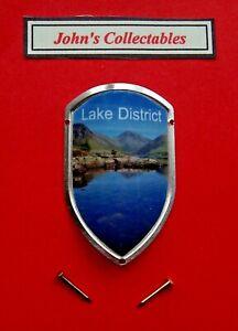 LAKE DISTRICT WALKING / HIKING STICK BADGE / MOUNT  LOT M NEW IN PACKET