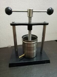 Tincture Press 1 liters Lab Equipment, Tincture press apparatus FREE SHIPPING
