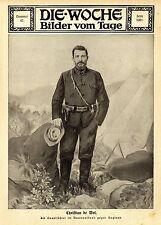 Christian de Wet Hauptführer im Burenaufstand gegen England 1914