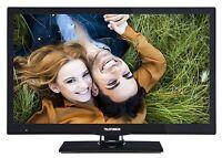 "Telefunken XF22A101 LED Fernseher 22"" Zoll 56cm TV Full HD DVB-C/-T2/-S2 USB CI+"