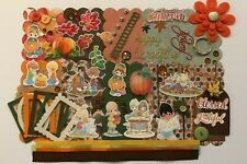 Precious Moments Fall Custom Chipboard Mini Book Album Kit Scrapbook Autumn