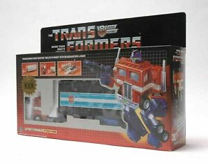 Transformers Optimus Prime G1 Reissue Pearl Red Black AutoBot Gift Christmas Toy