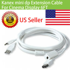 Kanex mini dp Extension Cable  usb for  LED Cinema Display 24 27Inch 6ft