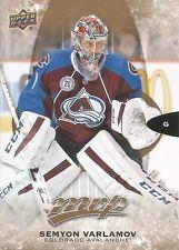Semyon Varlamov #195 - 2016-17 MVP - Base