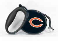 NFL Retractable Licensed Dog Pet Leash - Chicago Bears