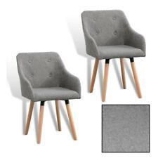 B-Ware Esszimmerstuhl Küchenstuhl Essstuhl 2er Set Designer Stuhl Stoffbezug