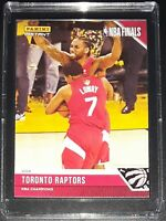 TORONTO RAPTORS NBA Champions 2019 Limited Edition NBA Card #28 Panini Instant