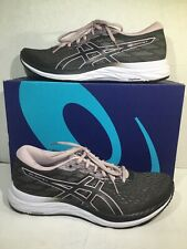 Asics Womens Size 11.5 EU 44 Gel Excite 7 Gray Athletic Running Shoes ZC-108