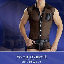 Kurzarm Herren-Freizeithemden aus Polyester