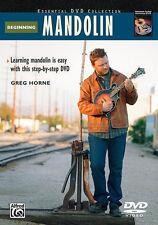 Beginning Mandolin -DVD; Horne, Greg, DVDs, ALFRED - 22890
