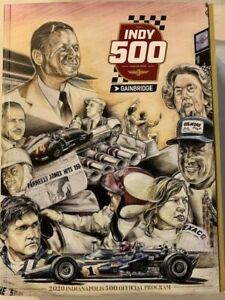 2020 INDY 500 INDIANAPOLIS MOTOR SPEEDWAY PROGRAM USA MARCO ANDRETTI GAINBRIDGE