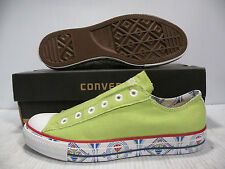 CONVERSE AS CHUCK TAYLOR SLIP-ON OX GREEN AU467 MEN SHOES SIZE 13 NEW