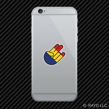 Romanian Shocker Cell Phone Sticker Mobile Romania ROU RO