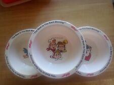 Vintage 1995 Kelloggs Collector Froot Loops Rice Krispies Tony Tiger Cereal Bowl