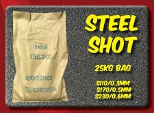 Steel Shot Sandblasting Media (3 Different sizes available) - Radum