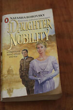 A Daughter of The Nobility by Natasha Borovsky (soft book 1986)
