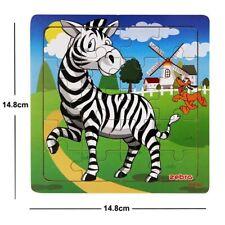 Puzzles en bois 20 pièces pour les enfants de 2 à 3 ans jouet éducatif