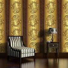 Fototapeten  Tapete Fototapete Wandbild FARBEN GOLD ORNAMENT DECORATION 2087 P8