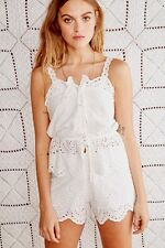 8e19150ad2a Stone Cold Fox Magnolia Set White Size 1 XS NEW NWT  385 Cami top elastic  shorts