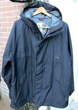 Burton Dryride Size L Large SOLID Black Snowboard Ski Coat Jacket Parka Hood