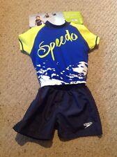 New Speedo UV 2 Piece Flotation Suit, Kiids Medium / Large.  Shorts And Top.