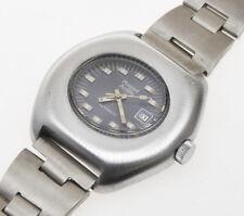 Phigied ANTILLE lady automatic watch, steel case, original vintage 1970