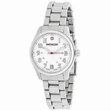 Wenger Stainless Steel Case Women's Wristwatches