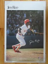 1978 CrossWinds Corp JIM RICE No. 14 BOSTON RED SOX Sports Illustrated Poster