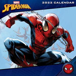 MARVEL (SPIDERMAN) 2022 OFFICIAL CALENDAR 30X30 cm *FAST UK DISPATCH*