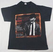 Rare Vintage USHER 2010 OMG Tour Concert Hip Hop R&B Miguel Trey Songz Shirt