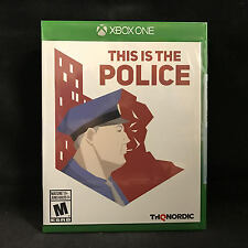 This Is the Police (Microsoft Xbox One, 2017) BRAND NEW / Region Free