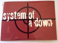 "System of a Down Sticker 3""x5"""