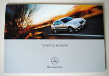 Mercedes . C-Class .  The New C Class Saloon . September 2000 Sales Brochure