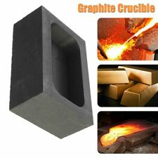 5OZ 55*37*20mm Graphite Product Metal Building Graphite Crucible for Gold US