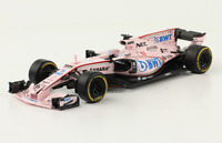 Force India VJM10 2017 Sergio Perez Rare Formula 1 F1 Diecast Car 1:43+Magazine