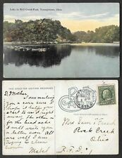 Old Ohio Postcard - Youngstown - Lake in Mill Creek Park