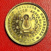 #5404 - Médaille bon pour un accord Ces Serry seule maison à Lyon - FACTURE