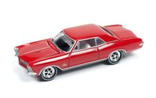 1/64 JOHNNY LIGHTNING CLASSIC GOLD 1A 1965 Buick Riviera in Red