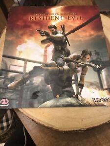 Resident Evil 5 calendar 2009 12 month Piggyback preowned