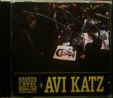 CD AVI KATZ - ground level ritratti, nuovo - conf. orig.