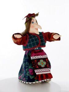 Art doll HANDMADE Baba Yaga