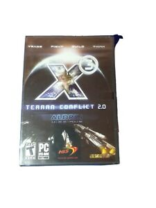 Brand New - X3 Terran Conflict 2.0 Aldrin Missions PC DVD Game for Windows