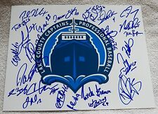 2014 Lake County Captains Team Signed Photo Clint Frazier Mike Papi Indians Auto