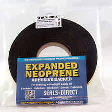 Expanded Neoprene Adhesive Tape. Weed Hatch, Window/Door Seal 38mm x 25mm x 6m
