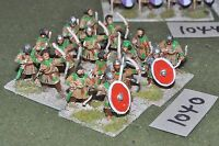 25mm roman era / roman - late 16 infantry figs - inf (10040)