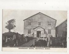 Independent Chapel Heathfield Sussex Vintage Postcard 643b