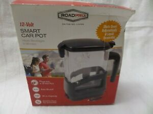 RoadPro 5027S 12 Volt 20oz Smart Car Pot Tailgating
