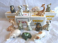 Wade  Various POCKET PAL Animals boxed and unboxed
