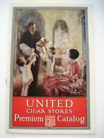 "1927 Premium Cigar Catalog for ""United Cigar Stores Co. of America""  *"