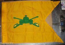 """MILITARY GUIDON TANK  FLAG ARMOR 1' 8"""" X 2' 3 3/4"""" GUIDON BLANK TYPE II BUNTING"""